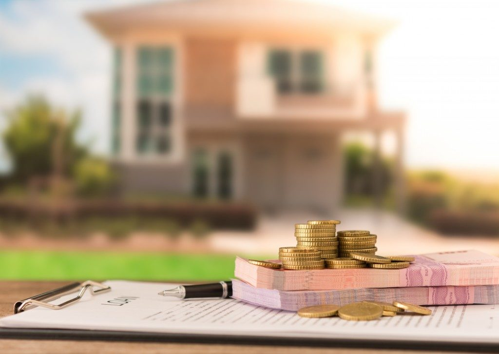 Mortgage money with contract