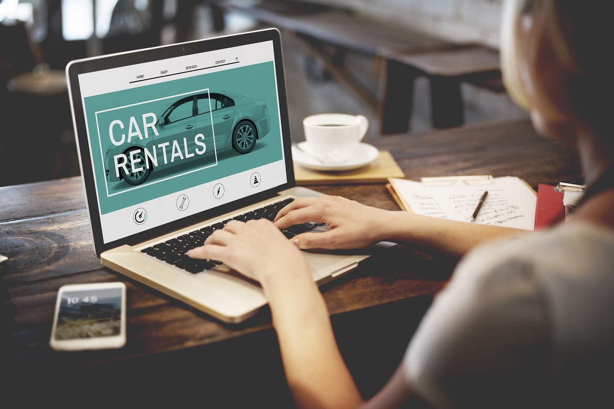 looking for car rentals online