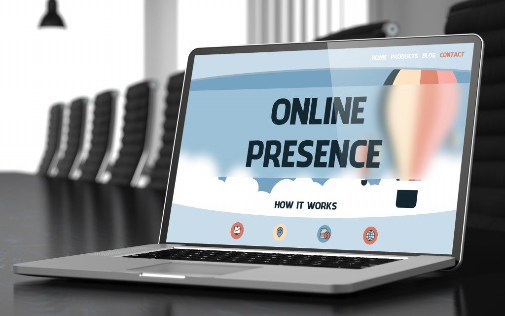 having online presence
