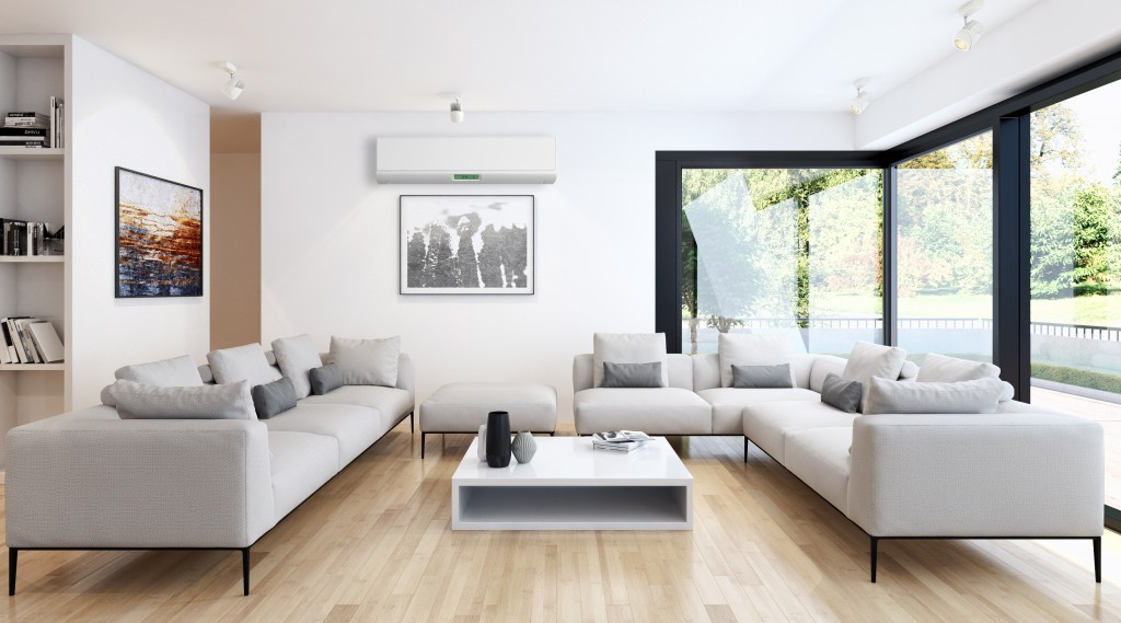 modern living room with many seats and sofas