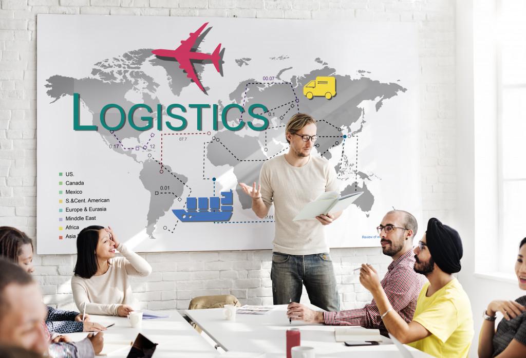 Logistics team meeting