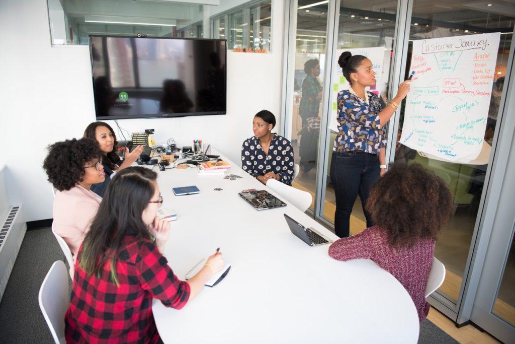 employee team meeting