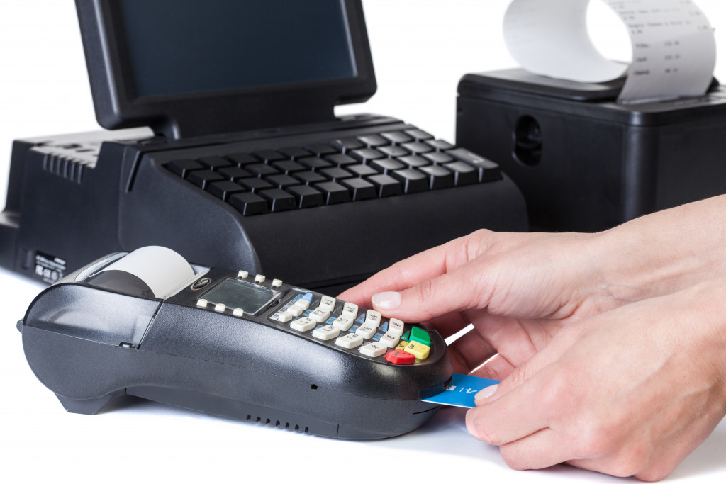accepting card payment
